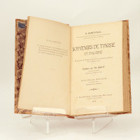 Souvenirs de Tunisie et d'Algérie. Préface de Th. Ribot.