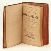 Glossarium Germanicum medii aevi maximam partem e diplomatibus, multis praeterea aliis monimentis. tam editis quam ineditis adornatum.