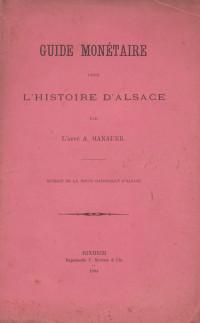 Guide monétaire pour l'histoire d'Alsace.