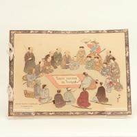 Fables choisies de J.-P. Claris de Florian illustrées par des artistes japonais, sous la direction de P. Barbouteau. Première et deuxième série.