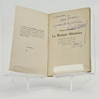 La musique libératrice. Conférence faite le 8 octobre 1921 à la Bourse du Travail de Paris pour l'ouveture de la 4ème Saison des Fêtes du Peuple.