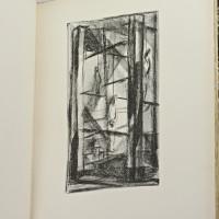 Épitaphe ou la ballade des pendus. Dix lithographies de Raymond Pagès. Lettres dessinées et gravées sur bois par Maurice Denonain.