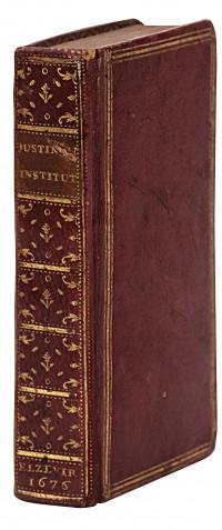 Imperatoris Iustiniani libri IIII. Adjecti sunt ex Digestis tituli de verborum significatione et de regulis iuris : cum indice ad eosdem.