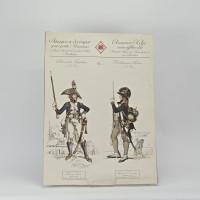 Images à découper pour petits Alsaciens. N° 1, 2 & 3: Soldats de la République.
