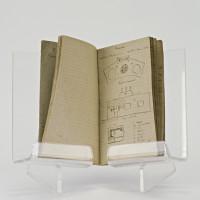 Carnet manuscrit.