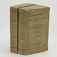 Économie rurale considérée dans ses rapports avec la chimie, la physique et la météorologie. Deuxième édition revue, corrigée et augmentée.