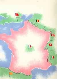 Notre France. Dessins d'Alexandre Sérébriakoff. Texte par Alice Piguet.