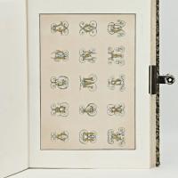 Lettres chiffres et armes tirés des principales bibliothèques de l'Europe, dessinés par MM. Silvestre et Paillet.