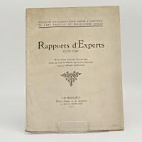 Rapports d'Experts, 1712-1791. Procès-Verbaux d'expertises d'œuvres d'art extraits du fonds Du Châtelet, aux Archives Nationales, publiés par Georges Wildenstein.