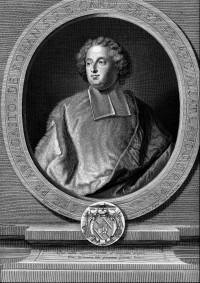Armand-Gaston-Maximilien de Rohan. Portrait gravé.