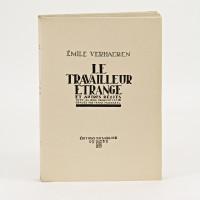 Le travailleur étrange et autres récits. Avec 26 bois dessinés et gravés par Frans Masereel.