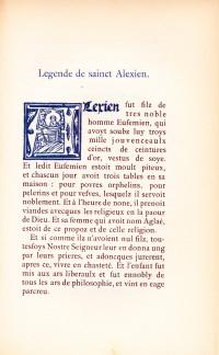 Les plus belles fleurs de la Légende Dorée de Jacques de Voragine. Ornées de figures du temps.