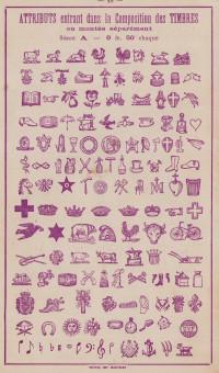 Manufacture de timbres et caractères mobiles en caoutchouc.