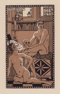 Les Bains de Bade. Petit roman d'aventures galantes et morales. Illustrations par George Barbier.