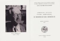 Armenian Studies. Études arméniennes. In Memoriam Haïg Berbérian.