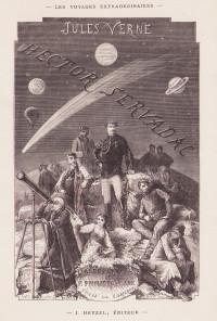 Hector Servadac. Voyages et aventures à travers le monde solaire. Dessins de philippoteaux, gravés par Laplante.