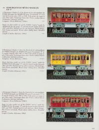 Trains jouets. Trains de collection. Première vente. First sale.