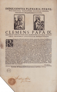 Indulgentia plenaria perpetua concessa visitantibus ecclesias ordinis Cisterciensis in die S. Bernardi Ecclesiae Doctoris melliftlui.